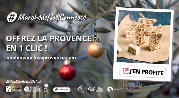 Marché de Noël connecté en Vaucluse