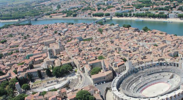bloc6-Centre_Arles_vue_aérienne-B.Levet